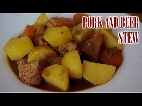 Pork and beer stew Recipe