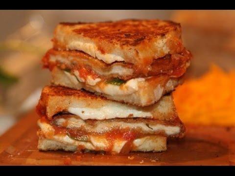 EASY CHEESY CHICKEN NUGGETS SANDWICH / SNACK - PARTY - RAMADAN RECIPE USING BREAD (EP 46)
