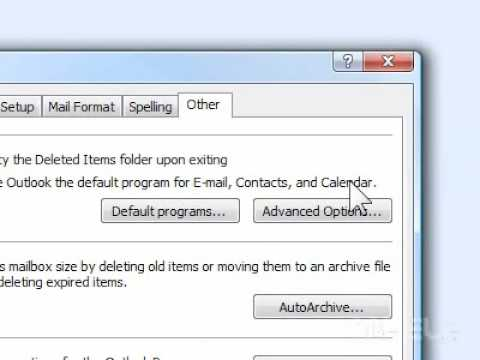How to make Outlook your default email program