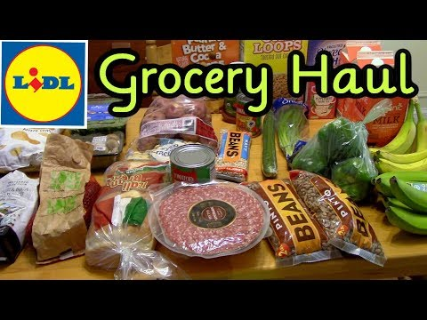 Lidl Grocery Haul $55 ~ March 2018