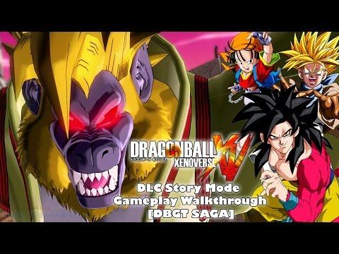 Dragon Ball Xenoverse DLC Story Mode Gameplay Walkthrough [DBGT Saga]