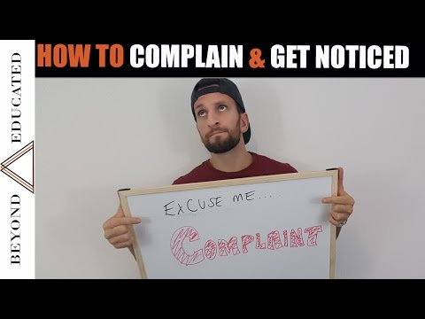 How to write a complaint letter w/ templates | How to complain | Get what you want.