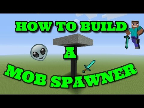 Minecraft : How to build a mob Spawner [PC/PS4/PS3/XBOX/P.E.]