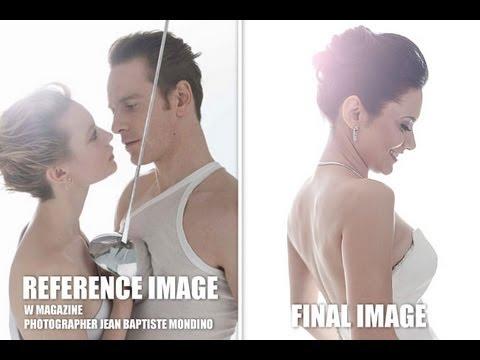 W Magazine Dreamy Vintage High Fashion Effect in Photoshop - Photoshop Tutorial