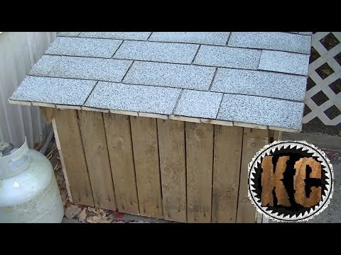 PALLET STORAGE BOX Made from Free Pallets