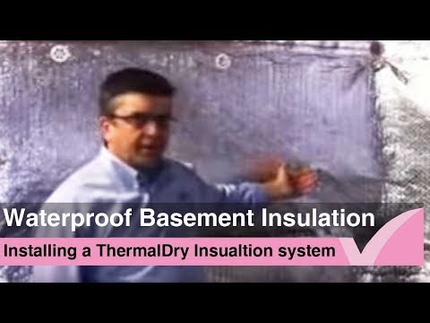 How to insulate basement walls properly