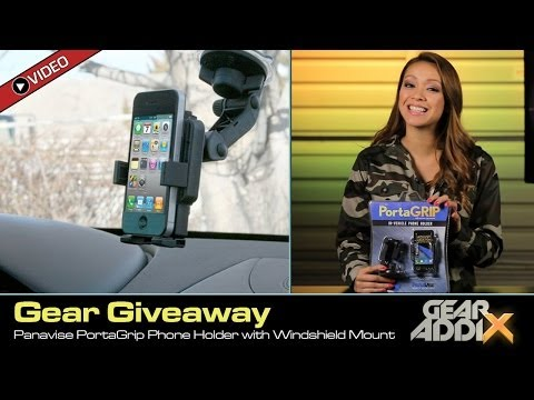 GEAR GIVEAWAY: Panavise PortaGrip Phone Holder with Windshield Mount