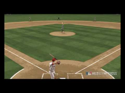 mlb 09 the show hit by baseball