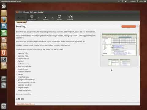 Installing Evolution Mail On Ubuntu 12.04