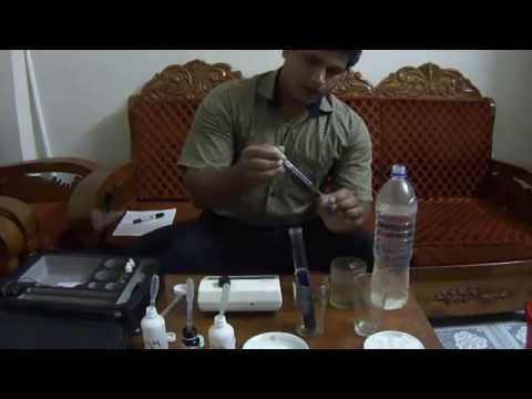 Quantitative measurement of Iodine in salt by WYD