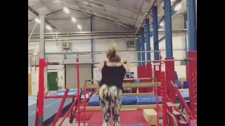 Girl Falls Off High Bar