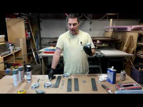 Building Double Barn Doors: Hardware