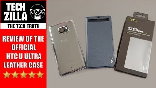 HTC U Ultra Official Leather Case
