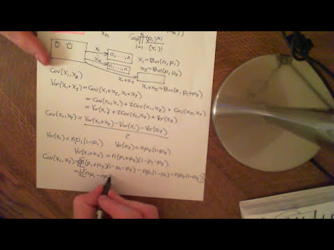 Covariance of the Marginals of the Multinomial Distribution