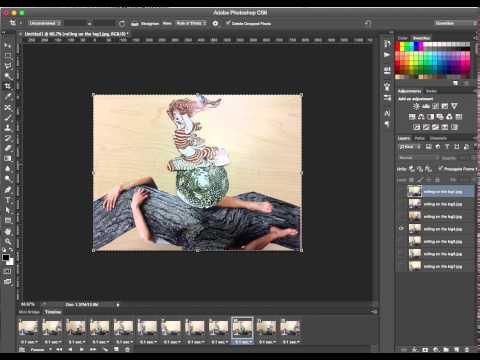 Photoshop Image Stack to Animated GIF