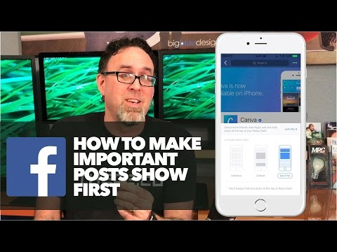 Make Important Facebook Posts Show First