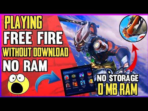 Play Free Fire Game Any Device No Ram Zero Space - PakVim