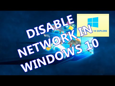 WINDOWS 10 TIPS : Remove NETWORK Icon from File  Explorer in Windows  10