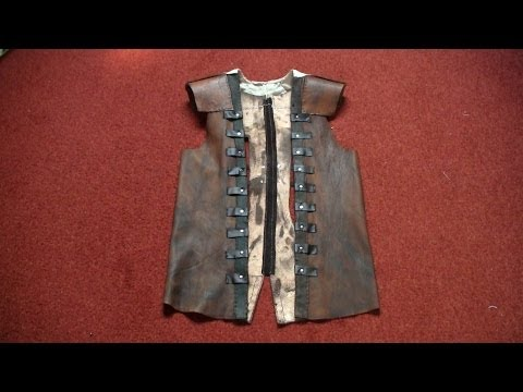 Edward costume (AC4:BF): leather vest tutorial