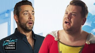 Zachary Levi Brings Out James