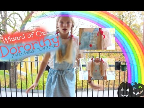 MACERWEEN DIY Dorothy Halloween costume!