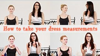 How To Take Dress Measurements Jjshouse Wedding Special Occasion Dres