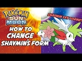 How to Change Shaymin's Form in Pokemon Sun and Moon! How to get Gracidea Flower!