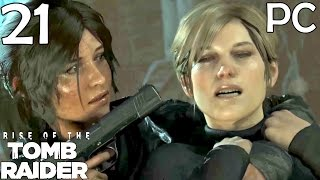 Rise Of The Tomb Raider Walkthrough Part 21 - Cathedral Carnage