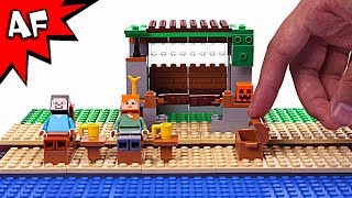 Lego Minecraft How to Survive on a Deserted Island Brick Building