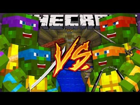 Minecraft Super-Hero Royle Rumble : TEENAGE MUTANT NINJA TURTLES