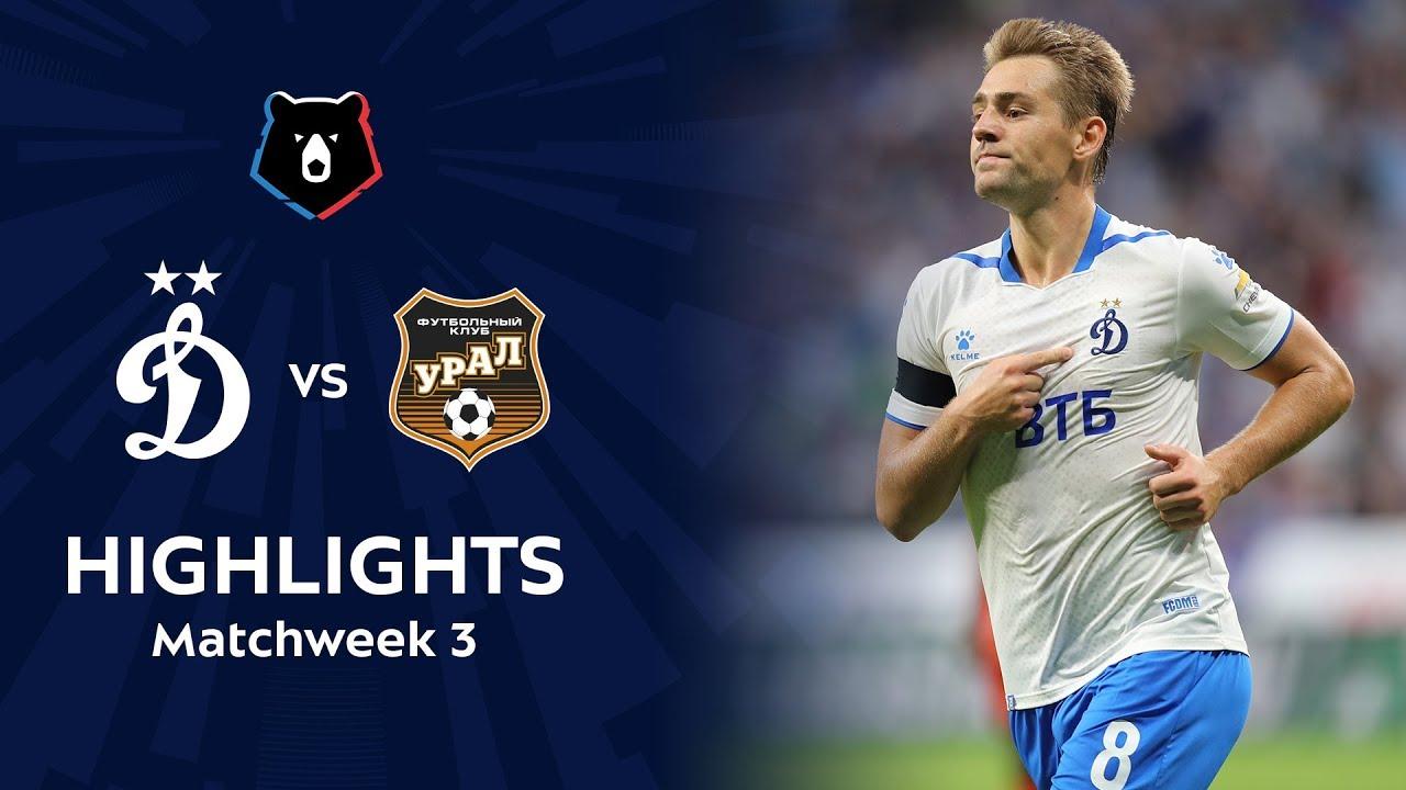 Highlights Dynamo vs FC Ural (2-0) | RPL 2019/20