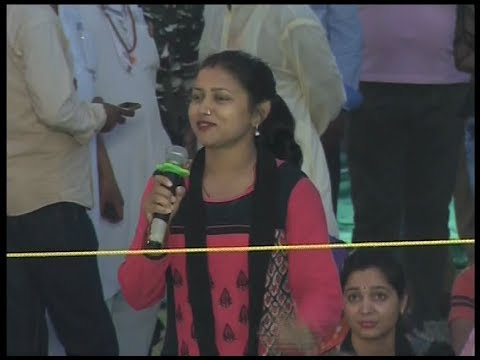 महिलाओं एवं बच्चों के लिए योगसत्र, आजमगढ़ ( उत्तर प्रदेश ) | 18 May 2018 (Part 4)