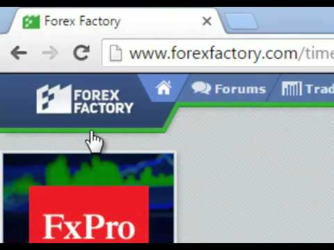How to Use ForexFactory.com in Urdu/Hindi