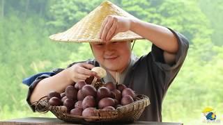 【Shyo viedo】100个土鸡蛋,放在锅里一煮,别提有多美味了