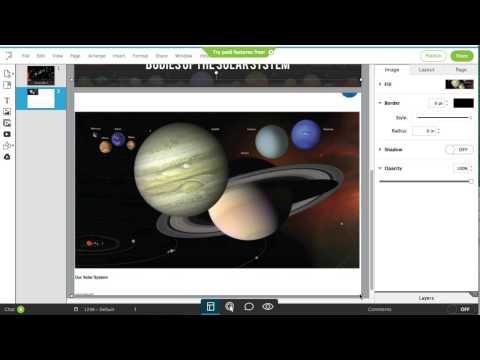 Lucidpress - making a digital booklet