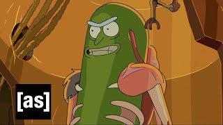 Design Sneak Peek: Pickle Rick | Rick and Morty | Adult Swim