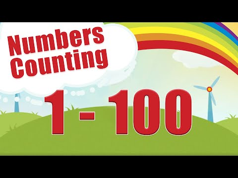 Count to 1-100 | Learn Counting | Number Song 1 to 100 | One To Hundred Maths Lesson - Arithmetic
