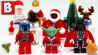 Every Lego Star Wars Christmas Minifigure!!!