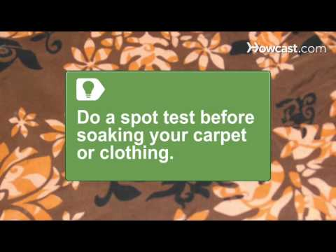 How to Get Rust Out of Carpet & Clothing