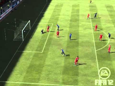 Fifa 12 - Created Player Goal *1 !