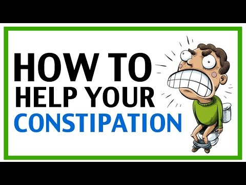 How To Help Constipation | How To Help With Constipation