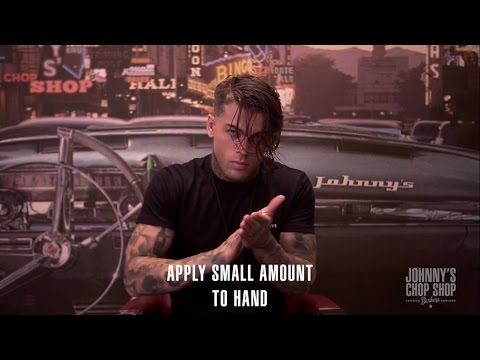 STEPHEN JAMES | whoiselijah | Slick Back Wet Look Haircut & Hairstyle at Johnny's Chop Shop