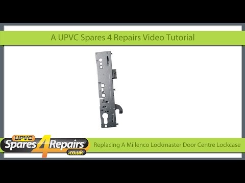 Replacing A Center Lockcase on a Lockmaster / Millenco Upvc Door Gearbox