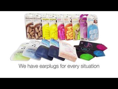 Instruction movie - wax earplugs