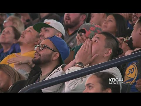 Hopes Soar Then Crash at Warriors Watch Party in Oakland