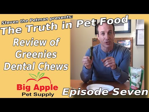 Review of Greenies Dental Chews - Ep. 7 of Steven the Pet Man: The Truth in Pet Food