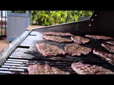 Grilled Round Streak how to video