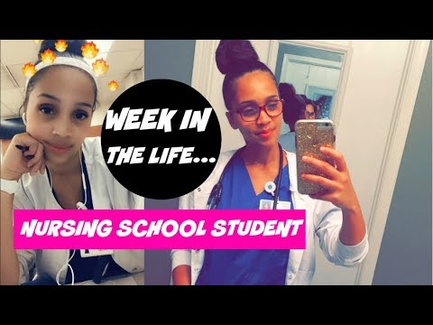 WEEK IN THE LIFE OF A NURSING SCHOOL STUDENT!