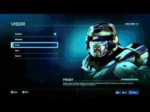 Halo 5: Guardians Beta - Warrior Armor