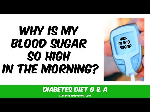 Why is My Blood Sugar So High In The Morning